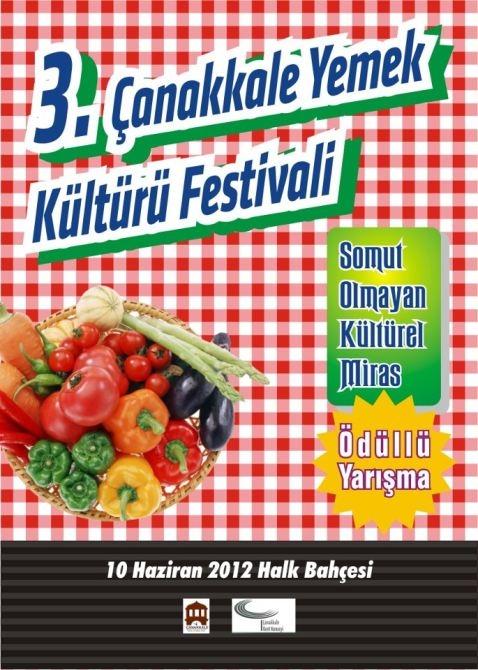 III. Çanakkale Yemek Kültürü Festivali Başlıyor