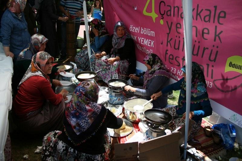4. Çanakkale Yemek Kültürü Festivali Gerçekleştirildi