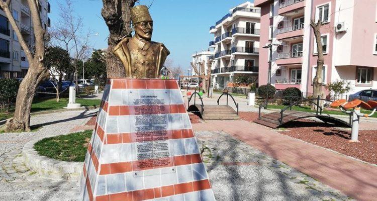 Cevat Paşa Büstü, Parktaki Yerini Aldı