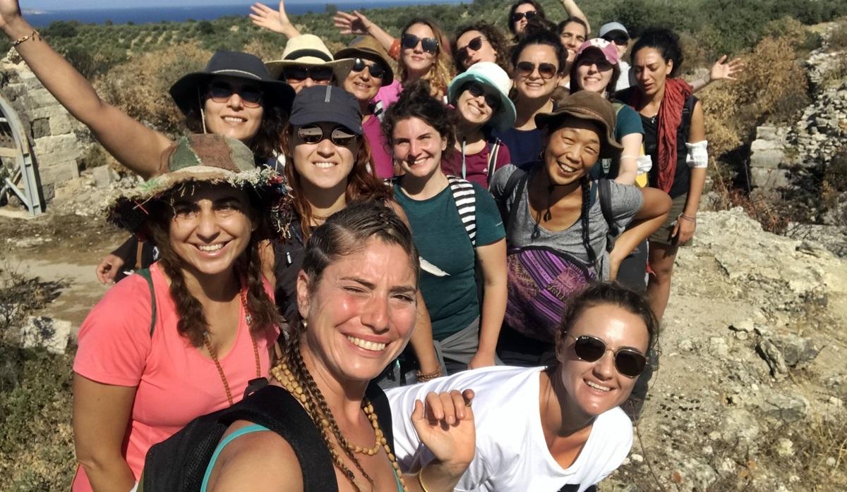 Troya Kültür Rotasını Kadınlarla Yürüdü Çanakkale'ye Taşındı