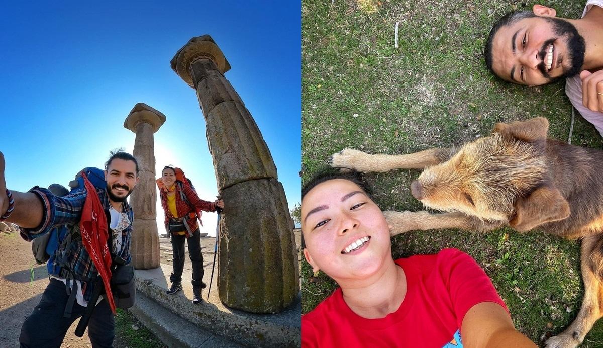 Ünlü Gezginler Troya Kültür Rotasını Yürüdü